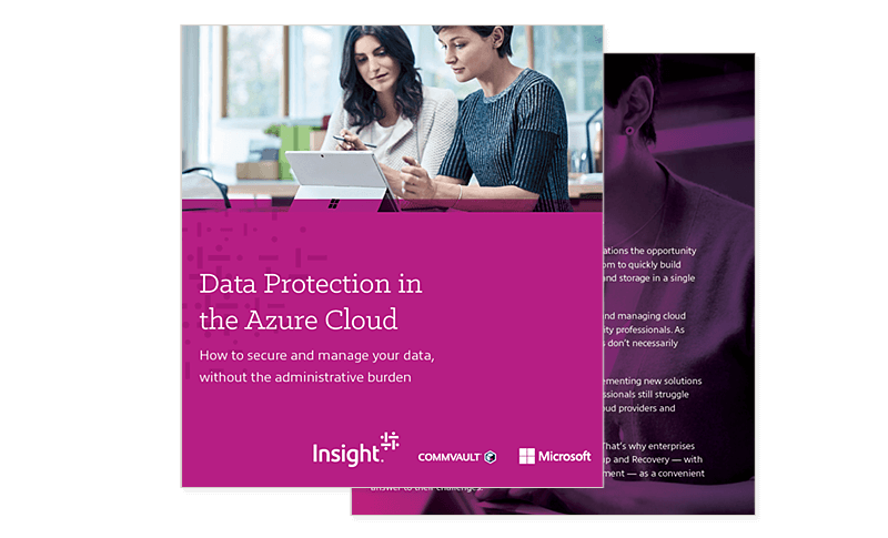 Data Protection In The Azure Cloud ebook available for download